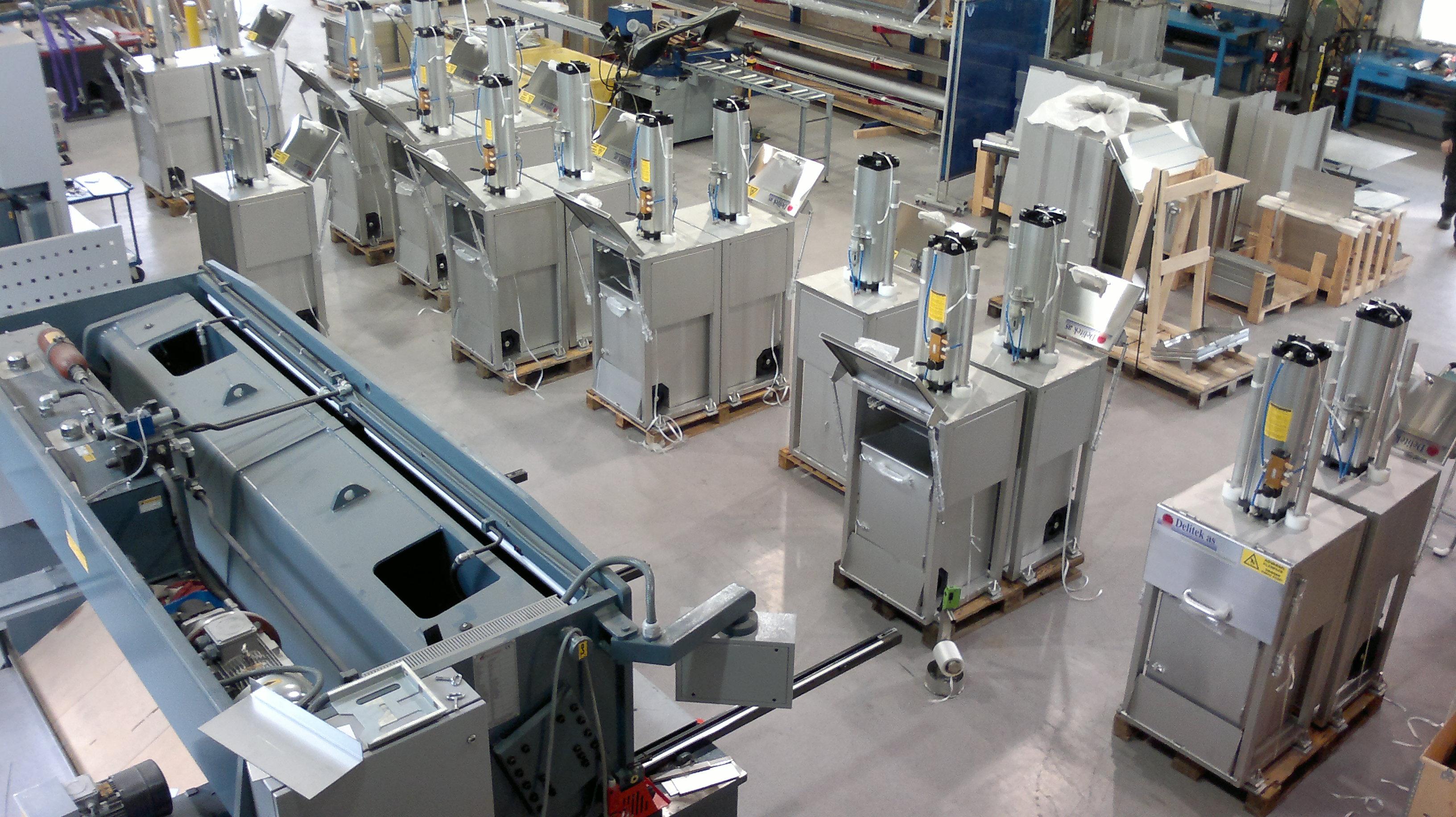 dELITEK OVERSIKT PRODUKSJON - Waste Management Systems